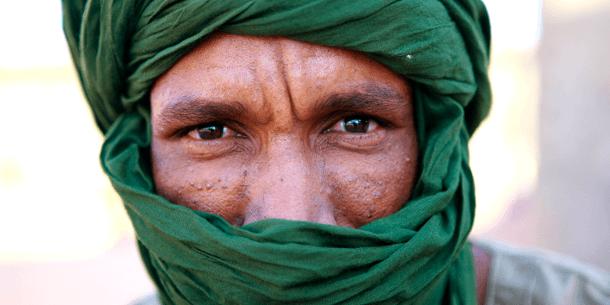 Flertallet af den oprindelige Vestsahara-befolkning, saharawiene, lever som flygtninge i Algerie. Foto: UN Photo/Martine Perret.