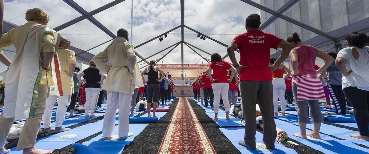 Den internationale dag for yoga