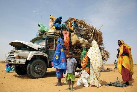 Internt fordrevne flygtninge i Sudan