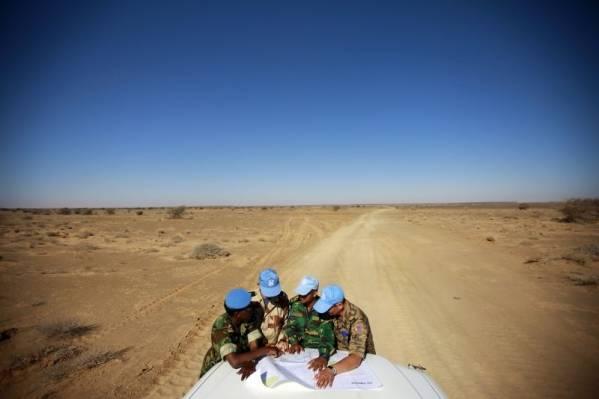 MINURSO-soldater i Vest-Sahara