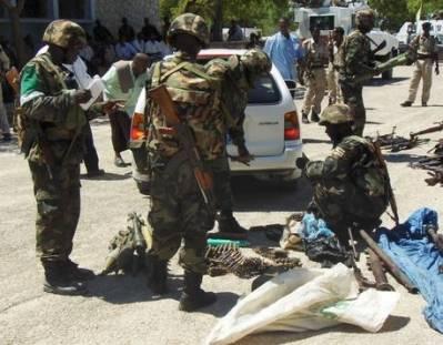 AU's fredsbevarende styrker fra Uganda