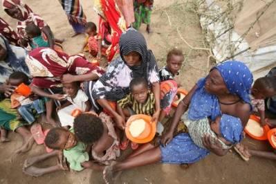 Mangel på mad i Somalia