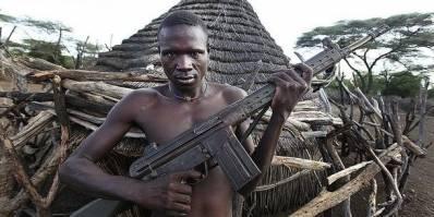 Borgerkrigen i Sydsudan førte til en øget militærisering af civilbefolkningen