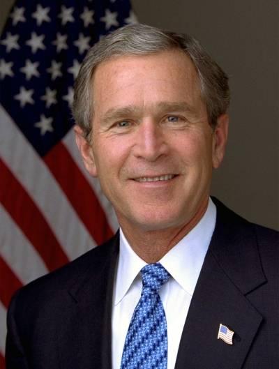 USA's daværende præsident, George W. Bush, startede krigen mod terror efter angrebet på World Trade Center 11. september 2001 (White house photo / Eric Draper).