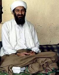 Osama Bin Laden lededesit terroristnettværk Al Qaida fra Afghanistan. Foto: Hamid Mir/Canada Free Press/CC