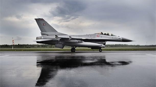Folketinget sendte i oktober 2014 syv danske F-16-fly til Irak for at tage del i kampen mod Islamisk Stat